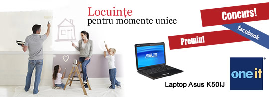 Laptop Cadou de la One-IT si Grup de Lux