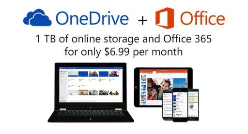 OneDrive si Office 365 - promo