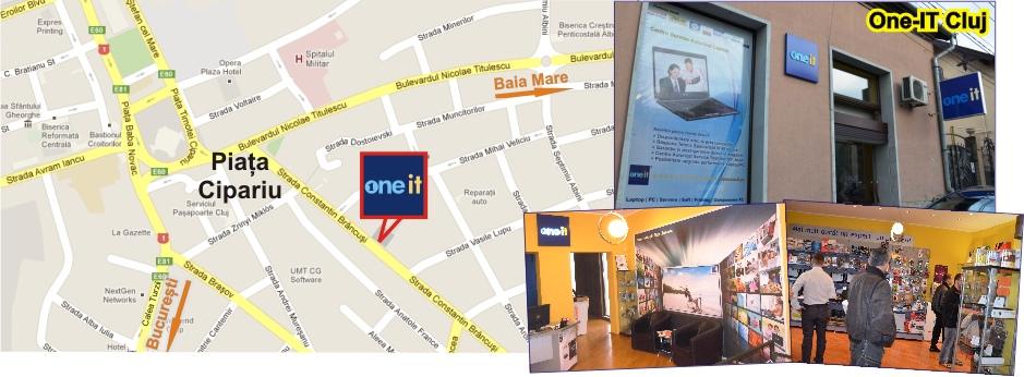 Harta Service Laptop Cluj