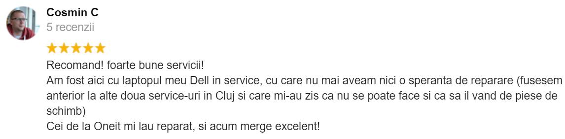 parere client Cluj