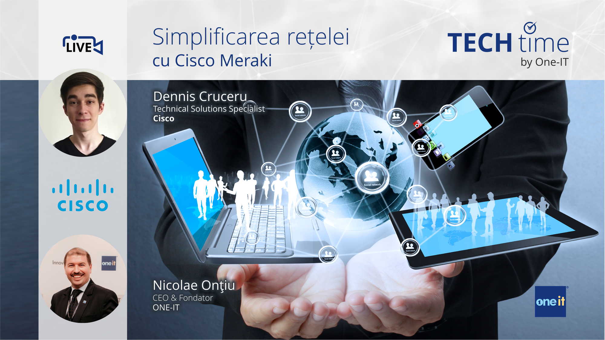 Simplificarea rețelei cu Cisco Meraki